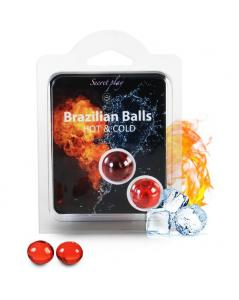 SECRET PLAY SET 2 BRAZILIAN BALLS FRiO CALOR