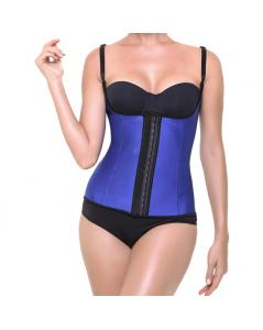 CORSET LATEX SHAPE AZUL