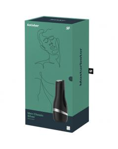 SATISFYER MASTURBADOR MEN CLASSIC PLATA