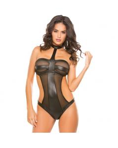 WETLOOK MESH TEDDY