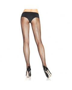 LEG AVENUE PANTIES DE REJILLA CON COSTURA PLUS